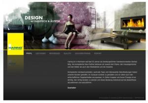 Haring.de Website
